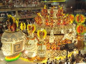 Carnival celebration in Rio de Janeiro